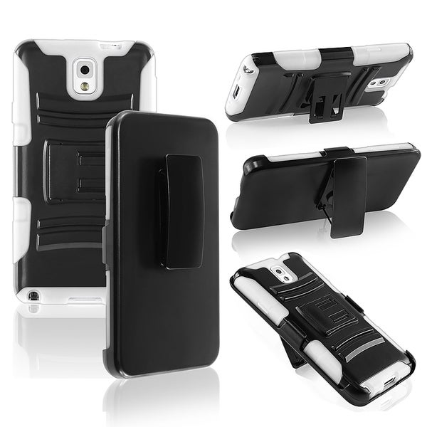 BasAcc Hybrid Case with Stand for Samsung© Galaxy Note 3 N9000