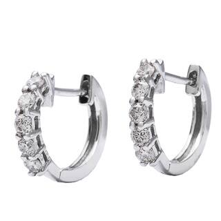 AALILLY 10k White Gold 1/4ct TDW Children's Round-cut Diamond Hoop Earrings|https://ak1.ostkcdn.com/images/products/8629171/P15893708.jpg?impolicy=medium