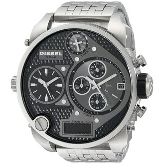 Diesel Men's DZ7221 Mr. Daddy Silver Stainless Steel Watch
