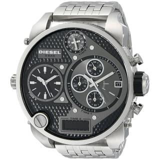 Diesel Men's DZ7221 Mr. Daddy Silver Stainless Steel Watch|https://ak1.ostkcdn.com/images/products/8629184/P15893720.jpg?impolicy=medium