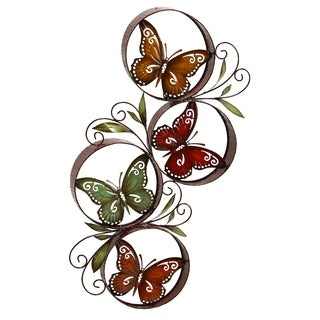 Oliver & James Buri Butterfly Wall Decor
