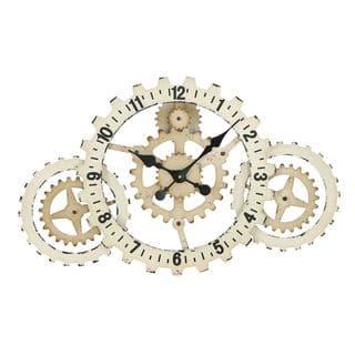 Metal Gears Wall Clock with Elegant Grandeur and Majestic Charm|https://ak1.ostkcdn.com/images/products/8629321/Metal-Wall-Clock-with-Elegant-Grandeur-and-Majestic-Charm-P15893829.jpg?impolicy=medium
