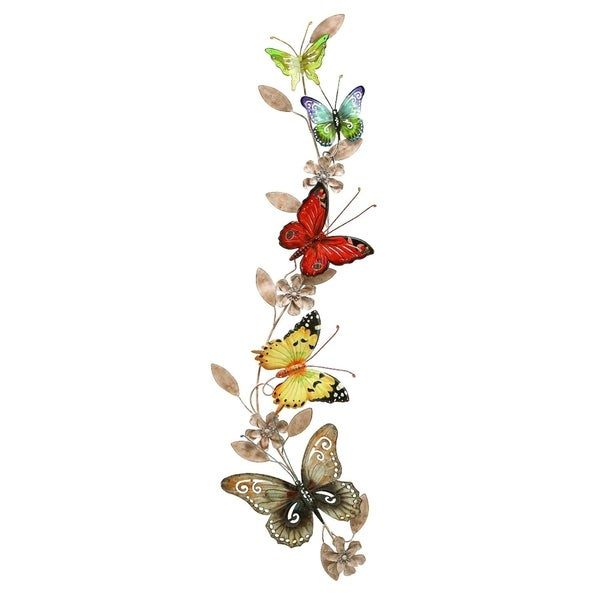 Metal Butterfly Wall Decoration