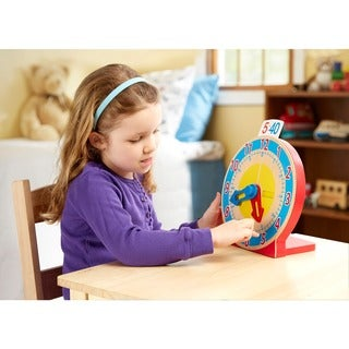 Melissa & Doug Turn & Tell Clock
