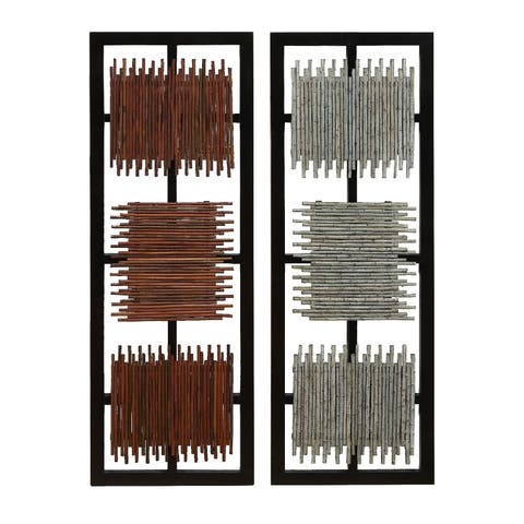 Carbon Loft Mackintosh Wall Decorations (Set of 2)