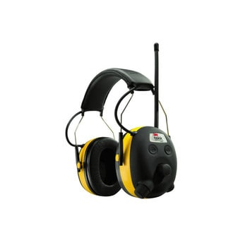 Peltor 3M TEKK WorkTunes Hearing Protector, MP3 Compatible with AM/FM Tuner