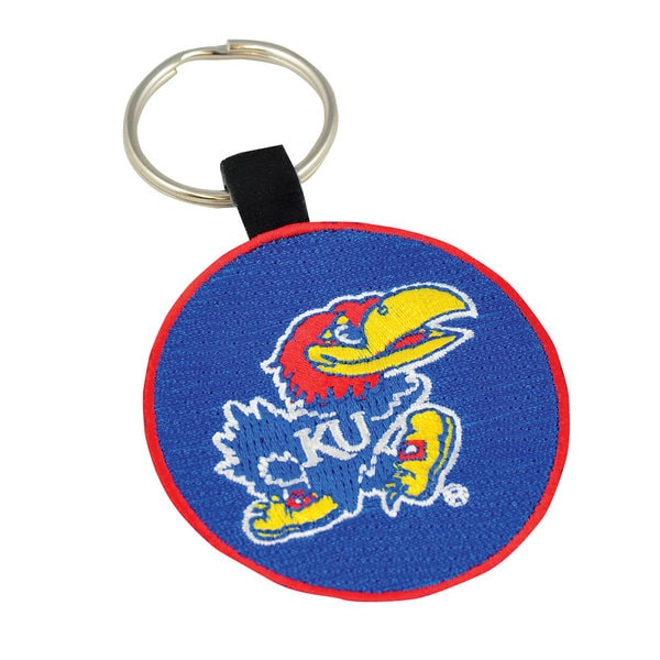 Kansas Jayhawks Key Rings (Set of 3)