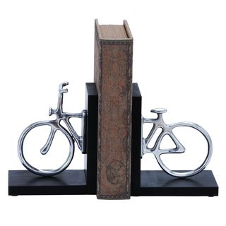 Copper Grove McNallie Stylish Aluminum Cycle Bookend