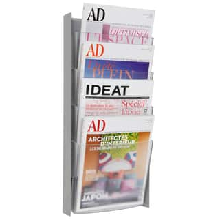 Alba Grey 4 Pocket Wall Doent Display
