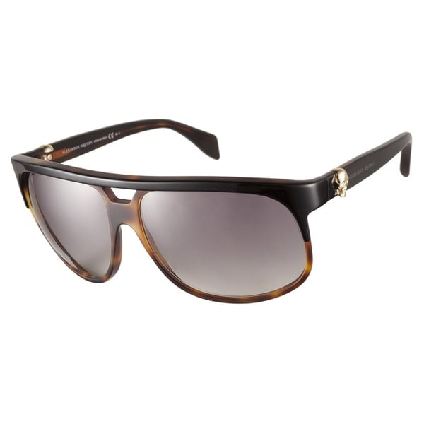 Alexander McQueen AMQ4195S BG4 N3 Black Tortoise Sunglasses