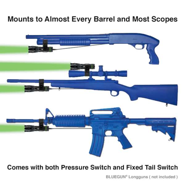 Nebo Tools Protec Greenlight Firearm Flashlight