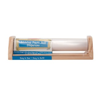 Melissa & Doug Tabletop Paper Roll Dispenser