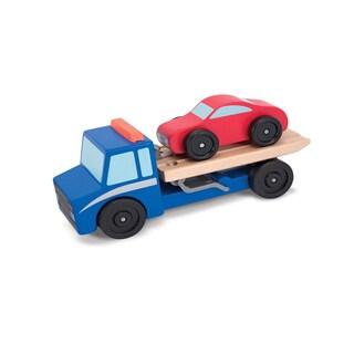 Melissa & Doug Flatbed Tow Truck
