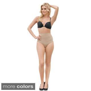Julie France by Euroskins Body Shapers Leger Ultra Firm Control Mid-waist Panty Shaper|https://ak1.ostkcdn.com/images/products/8631229/Julie-France-Leger-Mid-waist-Compression-Panty-Shaper-P15895383.jpg?impolicy=medium