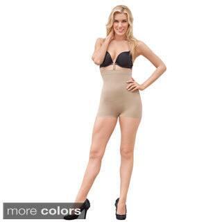 Julie France by Euroskins Body Shapers Leger Ultra Firm Control High-waist Boy Short Shaper|https://ak1.ostkcdn.com/images/products/8631235/Julie-France-Leger-High-waist-Seamless-Compression-Boy-Short-Shaper-P15895391.jpg?impolicy=medium