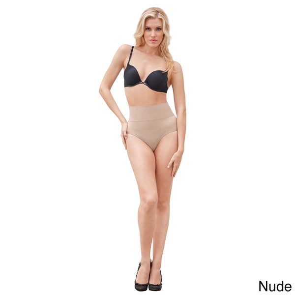 0533537f2 Shop Julie France by Euroskins Body Shapers Leger Ultra Firm Control Mid-waist  Thong Shaper - Free Shipping On Orders Over  45 - Overstock - 8631237