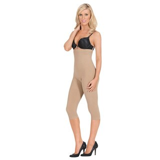 Julie France by Euroskins Body Shapers Women's Leger Ultra Firm Control High-Waist Capri Shaper