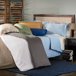 Superior 300 Thread Count Rayon from Bamboo 3-piece Duvet Cover Set