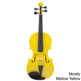 Le'Var 4/4 Student Violin (Option: Mostly Mellow Yellow)