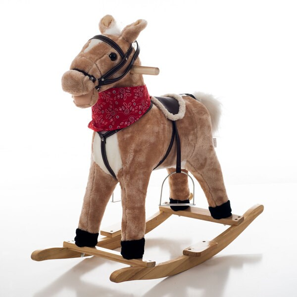 Happy Trails Bandit Rocking Horse
