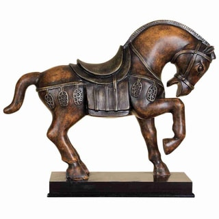 Bowing Horse Table Accent