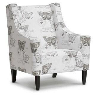 Baxton Studio Hammarby Beige Linen Accent Chair