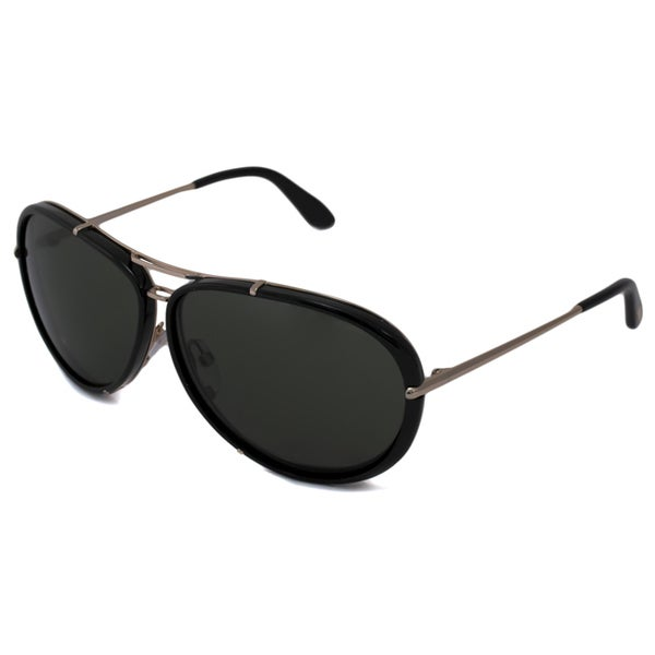 69a8f53375 Shop Tom Ford Men s TF0109 Cyrille Aviator Sunglasses - Free ...