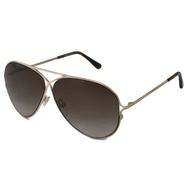 Tom Ford Men's 'TF0142 Peter' Aviator Sunglasses