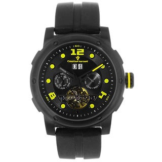 Christian Van Sant Men's Skull Automatic Watch