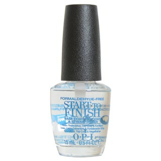OPI Start to Finish Formaldehyde Free Base & Top Coat Nail Strengthener
