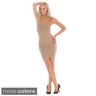 Julie France by Euroskins Body Shapers Leger Ultra Firm Control Strapless Dress Shaper|https://ak1.ostkcdn.com/images/products/8631687/Julie-France-Leger-Strapless-Compression-Dress-Shaper-P15895705.jpg?impolicy=medium