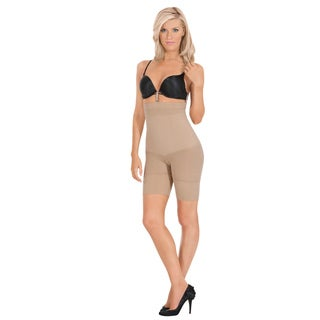 Julie France by Euroskins Women's Body Shaper Leger Cotton/Microfiber/Spandex Ultra-firm Control High-waist Boxer Shaper (3 options available)