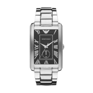 Emporio Armani Men's 'Classic' Stainless Steel Quartz Watch