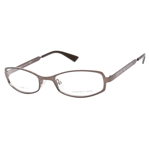 Emporio Armani 9727 H9I Shiny Brown Prescription Eyeglasses