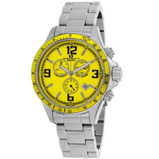 Oceanaut Men's Baltica Yellow/ Silver Watch