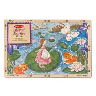 Melissa & Doug Lily Pad Journey Wooden Jigsaw Puzzle (96-Piece)