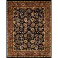 Safavieh Handmade Persian Legend Navy/ Rust Wool Rug - 8'3 x 11'