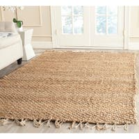 Safavieh Casual Natural Fiber Hand-loomed Natural Jute Rug - 5' x 8'