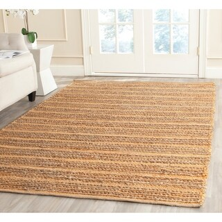 Safavieh Hand-woven Cape Cod Orange Jute Rug (5' x 8')