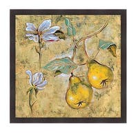 Giovanni 'Vintage Blossoms I' Framed Art Print