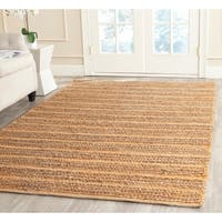 Safavieh Cape Cod Handmade Orange Jute Natural Fiber Rug - 8' x 10'