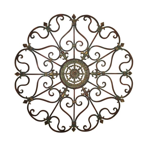 Shop Studio 350 Metal Wall Decor 29 inches D - Free Shipping Today ...