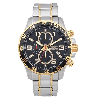 Invicta Men's Stainless Steel 'Specialty' Quartz Watch with Luminescent Hands
