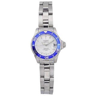Invicta Women's 14125 Stainless Steel 'Pro Diver' Quartz Link Watch