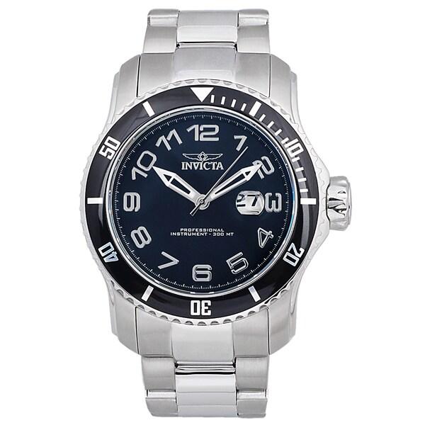 3d110d8b1 Shop Invicta Men's 15072 Stainless Steel 'Pro Diver' Quartz Watch ...