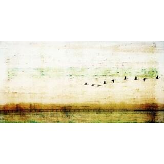 Parvez Taj 'Birds Flying' Canvas Print