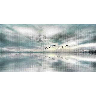 Parvez Taj 'Birds Skylight' Canvas Print (3 options available)