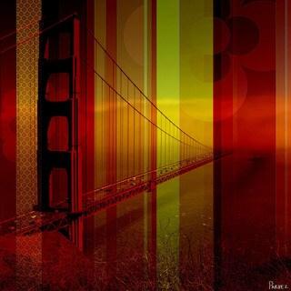 Parvez Taj 'Golden Gate 2' Canvas Print