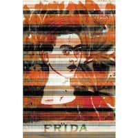 Parvez Taj 'Frida' Canvas Print - Multi-color