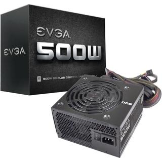 EVGA 500W 80Plus Power Supply Unit (100-W1-0500-KR)